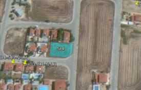 Cheap development land for sale in Pyla. Building Plot