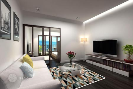 1 bedroom apartments from developers for sale overseas. Apartments under construction in the cottage complex with a swimming pool, a kindergarten and a private beach in Nha Trang, Vietnam