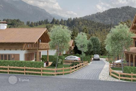 Off-plan residential for sale in Bavaria. Two-level new cottage with plot of land from the builder in the ski resort of Garmisch-Partenkirchen, Germany