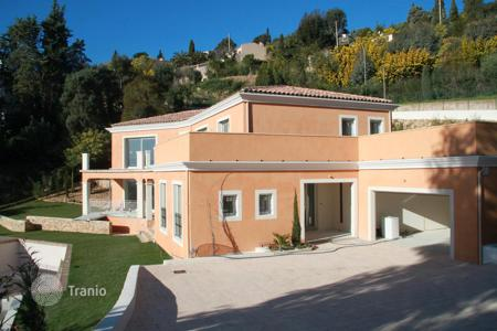 4 bedroom houses for sale in Mandelieu-la-Napoule. New built in villa with a swimming pool and a beautiful sea view in Mandelieu-la Napoule, Cote d`Azur, France