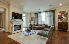 Property for sale in Dallas. Furnished apartment with a fireplace and a terrace, in a guarded residence with pool, a spa and a gym, Dallas, Texas, USA