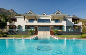 6 bedroom houses for sale in Spain. Truly Exceptional Luxury Villa in Cascada de Camojan, Golden Mile, Marbella