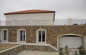 New villa on the top of the hill, in San Remo, Italy. Panoramic sea views, large garden with a pool, covered terrace, spacious garage for 1,300,000 €