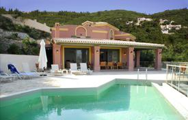 Houses with pools by the sea for sale in Corfu. Villa – Corfu, Administration of the Peloponnese, Western Greece and the Ionian Islands, Greece