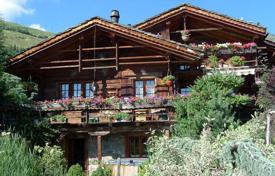 Luxury chalets for sale in Alps. Spacious chalet with a terrace and a mezzanine, in a quiet area, Bagnes, Switzerland