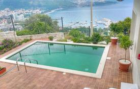 Furnished villa with a private garden, a pool, terraces and sea views, Budva, Chernogria for 590,000 €