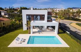 Modern villa with a terrace, a pool and a garden, near the beach, Malaga, Costa del Sol, Spain for 1,350,000 €