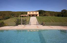 Villas and houses for rent with swimming pools in Siena. EXCLUSIVE VILLA IN SAN CASCIANO DEI BAGNI