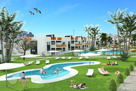 2 bedroom apartments by the sea for sale in Benidorm. Top floor apartments with solarium in Finestrat, Benidorm