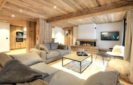 4 bedroom apartments for sale in Auvergne-Rhône-Alpes. Luxury apartment with a balcony, in a new residence with a parking, Megeve, Alpes, France