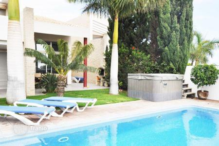 3 bedroom houses for sale in Santa Cruz de Tenerife. Fully furnished villa with terrace, pool and garden in Costa Adeje, Spain