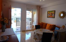 1 bedroom apartments by the sea for sale in Catalonia. Apartment with a terrace and a sea view in a residential complex with a pool and a parking, Mont-Roig del Camp, Spain