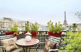 Property for sale in Ile-de-France. Paris 16th District – A 125 m² apartment with a terrace and balconies