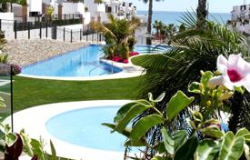 "3 bedroom houses by the sea for sale in Valencia. Torrevieja, La Mata, Community ""Azul Beach"". Bungalow of 90 m² built with private garden of 89 m²"