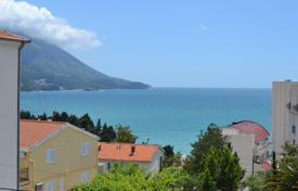 1 bedroom apartments by the sea for sale in Becici. Apartment with sea view in new residential building