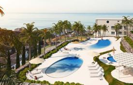 Penthouses for sale in Benalmadena. New apartment with sea and mountain views in a residence with a swimming pool and a sports club, in a prestigious area, Benalmadena, Spain