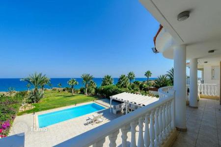 Luxury 5 bedroom houses for sale in Paralimni. Luxurious Five Bedroom Beach Front Villa