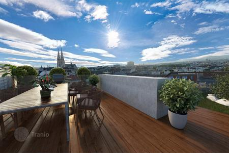 Luxury penthouses for sale in Vienna. New penthouse with roof terrace in the IX district of Vienna — Alsergrund