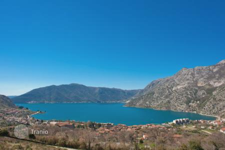 Apartments with pools for sale in Kotor. One bedroom apartment in a new building in Risan
