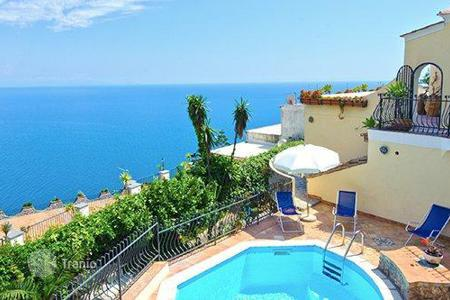 Villas and houses for rent with swimming pools in Praiano. Villa Milena