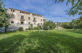 Luxury houses for sale in Badalona. Ancient manor on a hill with a panoramic view of the sea and the possibility of obtaining a hotel or restaurant license, Barcelona, Spain