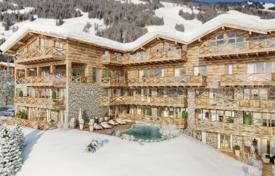 New home from developers for sale in Central Europe. Holiday apartment in a five-star complex in the immediate vicinity of ski slopes in Saalbach (Salzburg region)
