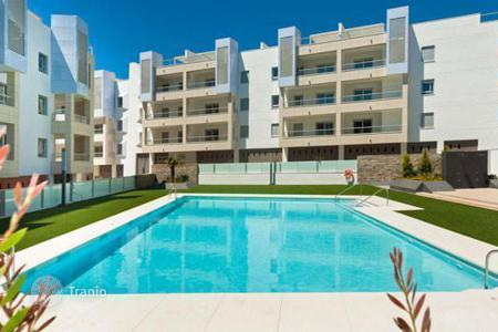 Residential for sale in Andalusia. New apartments with sea view in a residence with swimming pool, garden and parking, Marbella, Spain