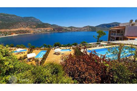 Commercial property for sale in Western Asia. Luxury boutique — hotel on the seafront, close to the old town of Kalkan, Antalya, Turkey