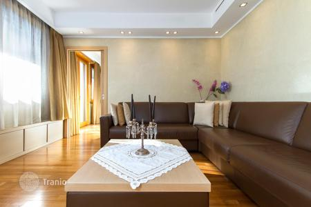 Apartments with pools for sale in Lombardy. Two-level loft in Milan, Italy. Terraces of 350 m², swimming pool with a jacuzzi, sauna, near the city center