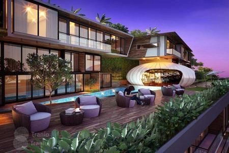 Off-plan property for sale overseas. Exclusive villas with panoramic views of the sea in Phuket, in complex with a private beach area