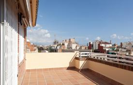 Penthouses for sale in Barcelona. Comfortable penthouse with a terrace in the center of Barcelona, Spain