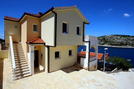 4 bedroom houses by the sea for sale in Rogoznica. Modern villa 50 meters from the sea in the village, Rogoznica, Croatia