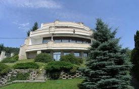 Luxury houses for sale in Hungary. Original villa with three terraces, a pool and a sauna, District XI, Budapest, Hungary