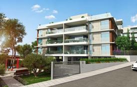 New homes for sale in Cyprus. New three-bedroom apartment with a sea view in Limassol, Agios Athanasios area