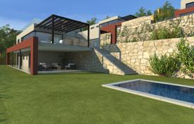 5 bedroom houses for sale in Begur. New two-storey villa with floor-to-ceiling windows, a swimming pool, a terrace and a sea view, Begur, Spain