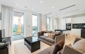 Property for sale in London. Comfortable apartment with a balcony in a new prestigious residential complex, London, UK