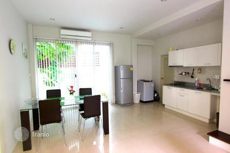 Townhouses for sale in Southeast Asia. Furnished townhouse with a plot of land in a residential complex with a swimming pool, restaurant and parking, Phuket, Thailand