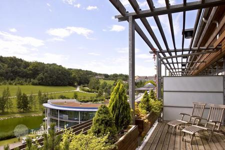 Penthouse from developers for sale in Europe. Luxury Spa Penthouse with great view to the south