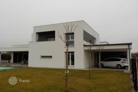 New homes for sale in Slovenia. Exclusive modern villa with private swimming pool