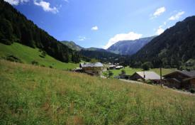 Development land for sale in France. Plot of land with panoramic views in the area of Morzine, France