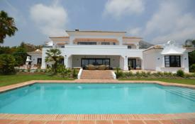 Luxury 6 bedroom villas and houses to rent in Andalusia. Villa Brell, Golden Mile, Marbella
