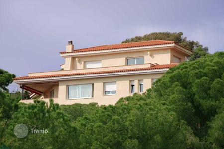 Luxury houses for sale in Catalonia. Spacious house with sea views, Teia, Spain