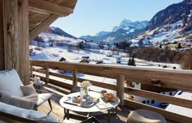 3 bedroom apartments for sale in Haute-Savoie. Two-bedroom apartment with a terrace, in a new residence, on a ski slope, 5 minutes drive from the center of Megeve, France