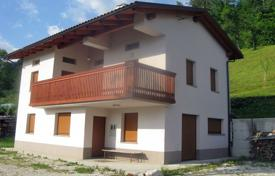 Property for sale in Tolmin. This is a newly built property offering amazing views over the mountains