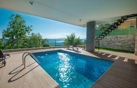 Houses with pools from developers for sale in Southern Europe. Extraordinary seaview villa for sale overlooking Tivat Bay