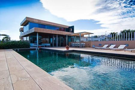 Residential for sale in Ibiza. Designer villa in high-tech style, with pool and garden, in Sa Carroca, Ibiza