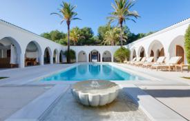 Moroccan style villa with two pools on the top of the mountain, San Lorenzo, Ibiza, Spain for 17,200 € per week