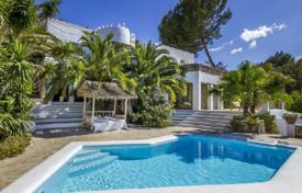 Unique villa with two pools and panoramic views of the valley and rolling countryside, Santa Eulalia, Ibiza, Spain for 12,200 $ per week