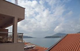 Spacious flat with a terrace and sea views, on the first line from the beach, Rafailovici, Montenegro for 230,000 €