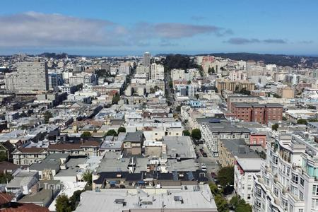Luxury 1 bedroom houses for sale overseas. Villa – San Francisco, California, USA